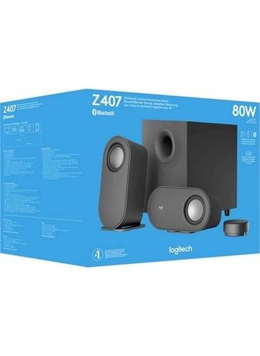 Logitech Logitech Z407 2+1 Kablosuz Bluetooth Hoparlör 980-001348 Renkli
